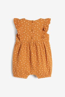 Next Embroidered Woven Romper (0mths-2yrs) - 286374