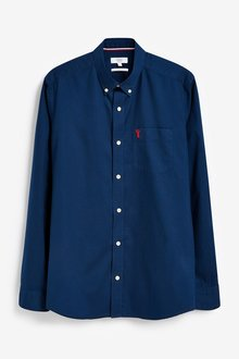 Next Roll Sleeve Lightweight Twill Shirt-Slim Fit - 286382