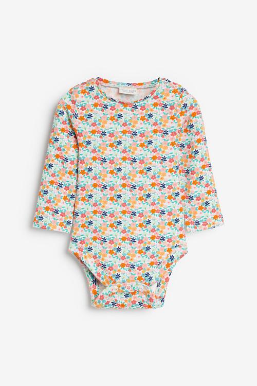 Next 3 Pack Floral Bodysuits (0mths-2yrs)