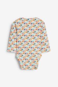 Next 3 Pack Floral Bodysuits (0mths-2yrs) - 286393