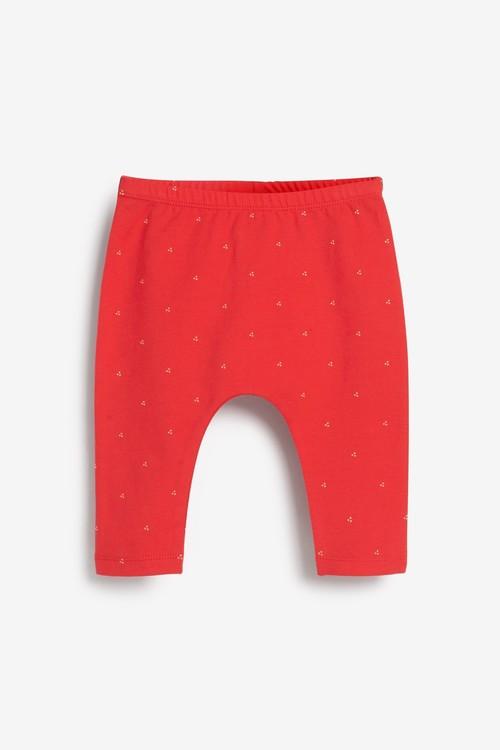 Next 3 Pack Strawberry Leggings (0mths-2yrs)