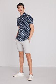 Next Geo Print Shirt - 286490