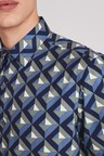 Next Geo Print Shirt