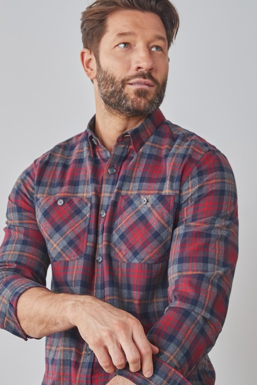 Next Check Long Sleeve Shirt