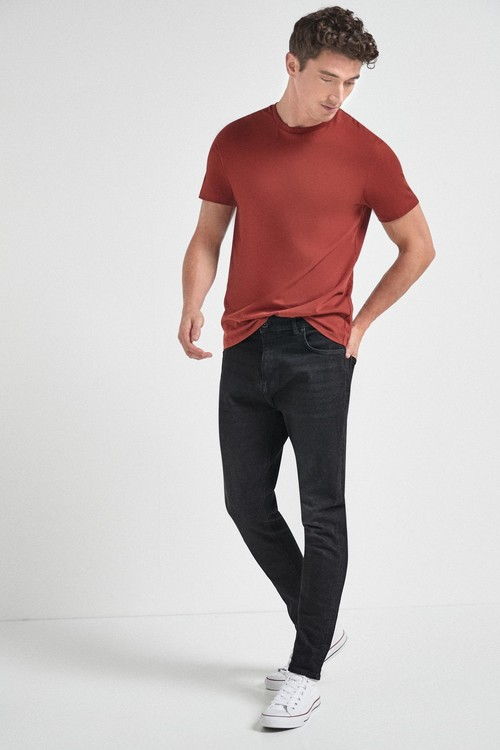 Next Slim Fit Jeans With Stretch-Tapered Slim Fit