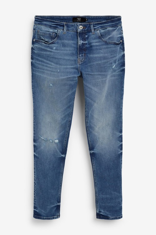 Next Ripped Jeans-Slim Fit
