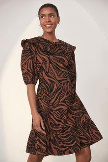 Next Collar Dress - 286854