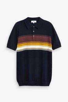 Next Horizontal Chest Stripe Polo - 286855