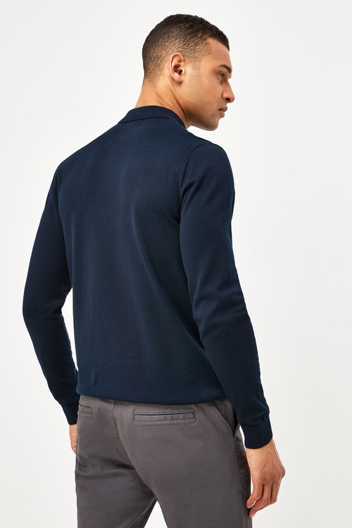 Next Knitted Polo