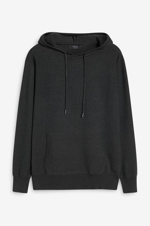 Next Premium Knitted Hoodie