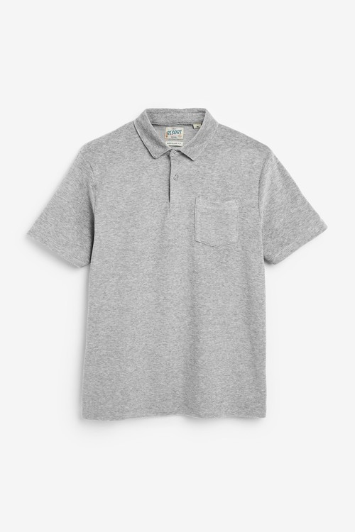 Next Towelling Polo