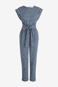 Next Tie Front Jumpsuit - 286975