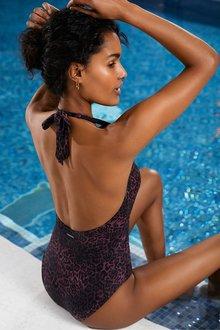 Next Mint Velvet Plunge Swimsuit - 287016