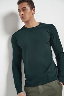 Next Long Sleeve Stag T-Shirts Three Pack - 287058
