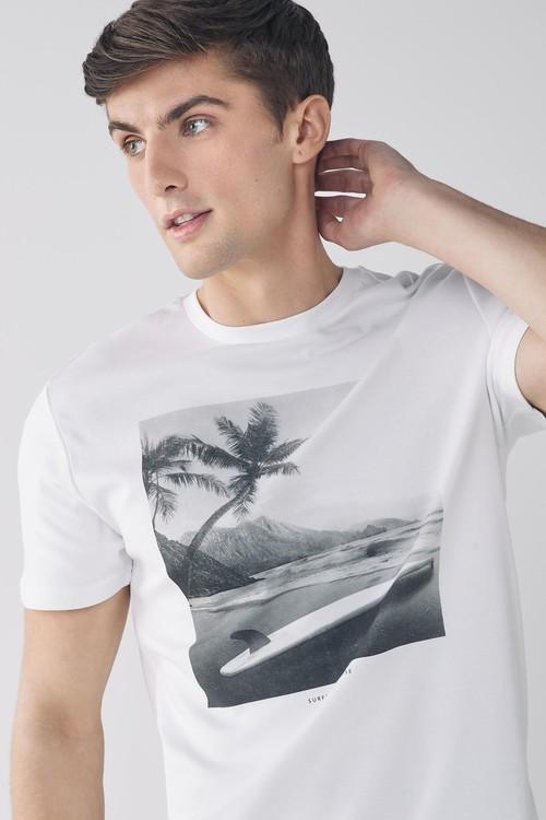 Next Photographic T-Shirt-Tall