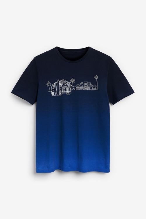Next Dip Dye T-Shirt-Tall