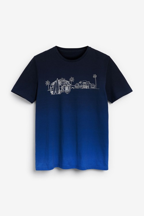 Next Dip Dye T-Shirt