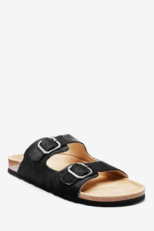 Next Two Band Footbed Mules - 287128