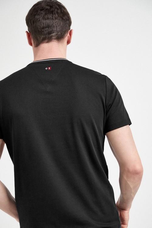 Next Block Embroidery T-Shirt