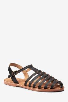 Next Leather Fishermans Sandals - 287146