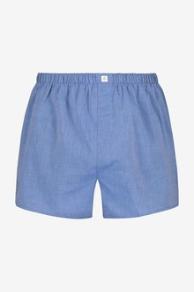 Next Essential Plain Woven Boxers Pure Cotton Four Pack - 287190