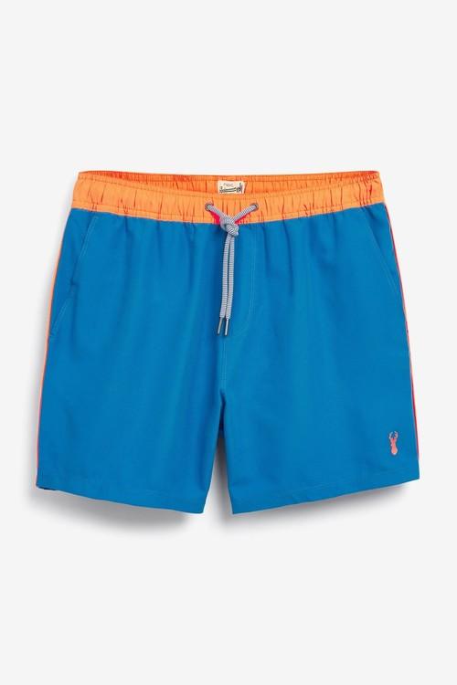 Next Contrast Trim Swim Shorts