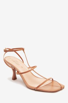 Next Signature Leather Strappy Cage Sandals - 287458