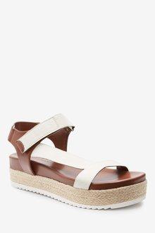 Next Sporty Strap Flatform Sandals - 287477