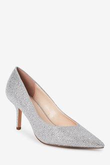 Next Bridal Heatseal Court Shoes - 287489