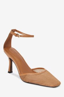 Next Mesh Two Part Heel Shoes - 287495