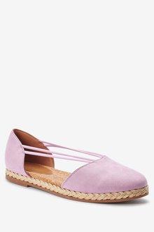 Next Closed Toe Espadrille Shoes - 287569