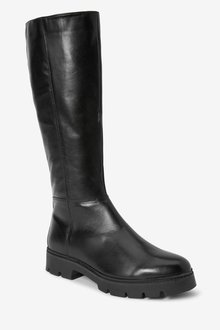 Next Forever Comfort Knee High Leather Boots - 287654