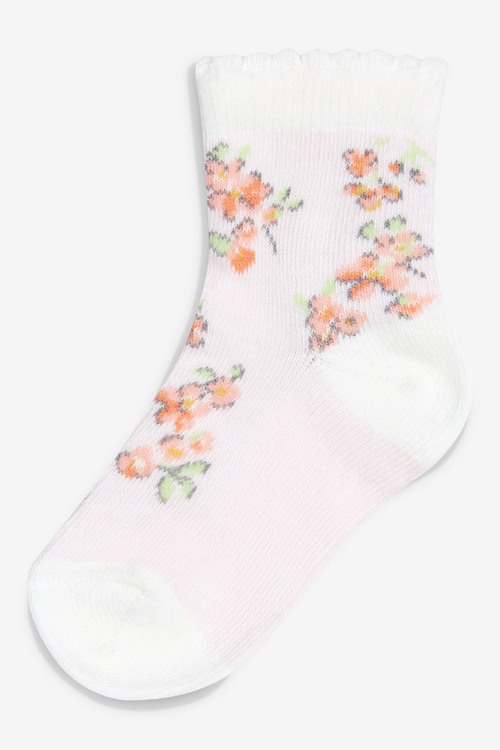 Next Floral Socks Five Pack (Younger)