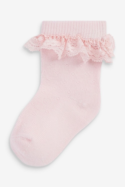 Next 5 Pack Frill Socks (Younger)