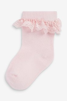 Next 5 Pack Frill Socks (Younger) - 288056