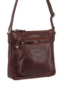Milleni MultiZip Leather X-Body Bag - 288067