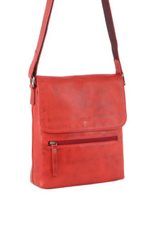 Milleni Multi-Zip Leather X-body Bag - 288068