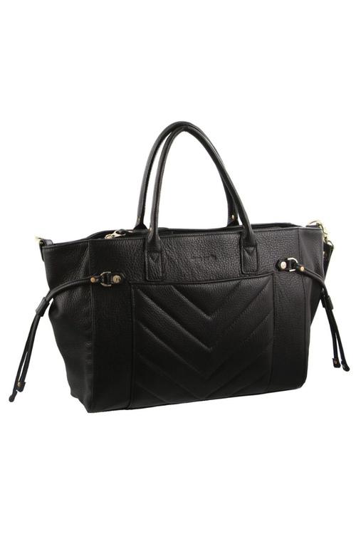 Pierre Cardin Leather Woven Design Tote