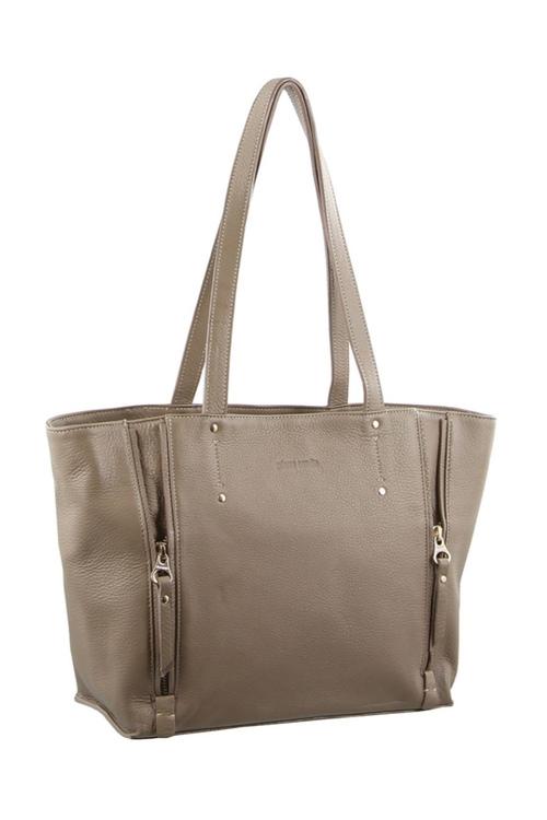 Pierre Cardin Leather Shoulder Handbag