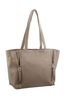 Pierre Cardin Leather Shoulder Handbag - 288080