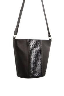 Pierre Cardin Leather Bucket Cross-body Bag - 288087