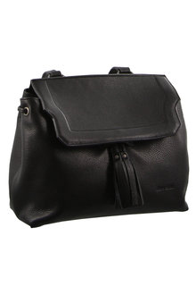Pierre Cardin Leather Drawstring Backpack - 288088