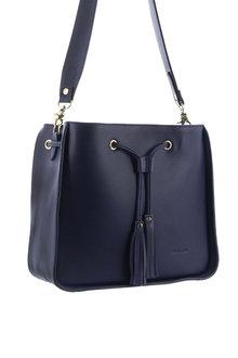 Pierre Cardin Leather Shoulder Handbag - 288093