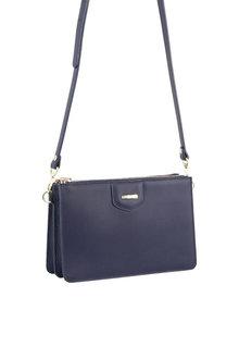 Pierre Cardin Leather Cross-Body Bag/Clutch - 288097