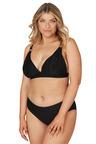 Nip Tuck Swim Black Gamma Dulcie Tummy Control Bikini Set Swimsuit