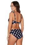 Nip Tuck Swim Navy Ava Spot Bette Pin Up Style Tummy Control Bikini Set