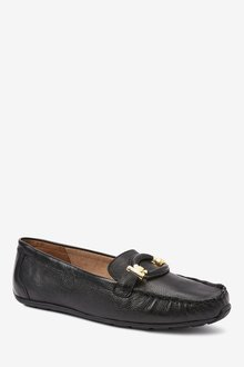 Next Leather Hardware Driver Shoes - 288388
