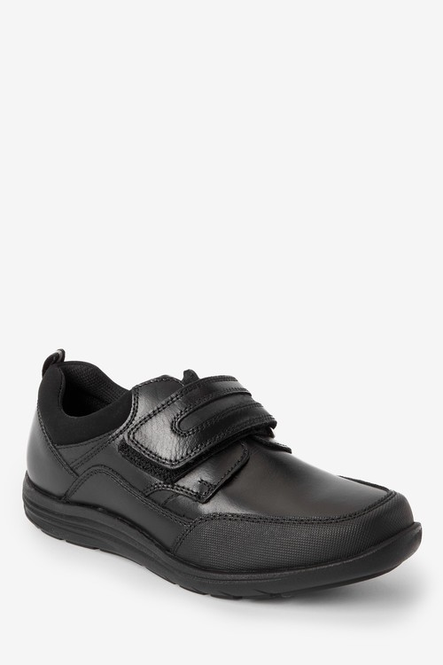 Next Leather Single Strap Shoes (Older)-Narrow Fit