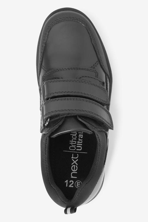 Next Leather Double Strap Shoes (Older)-Narrow Fit