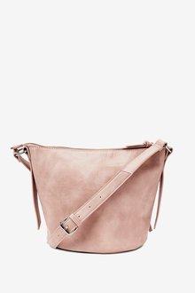 Next Zip Detail Across-Body Bag - 288502